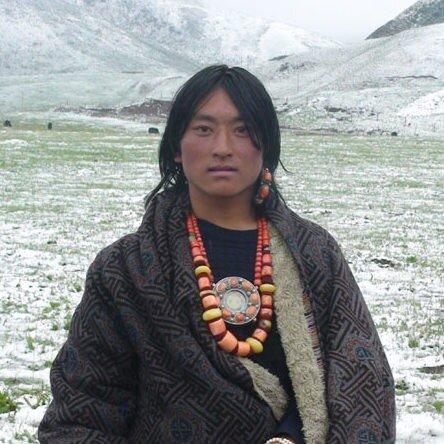 тибетский мальчик с гау