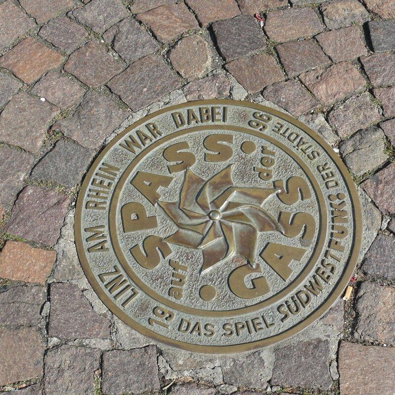 Памятный знак из Линца, Германия