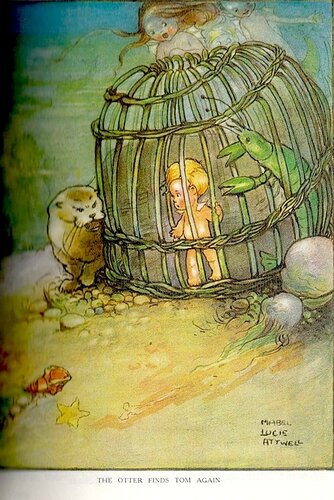 Mabel Lucie Attwell, цветная картинка