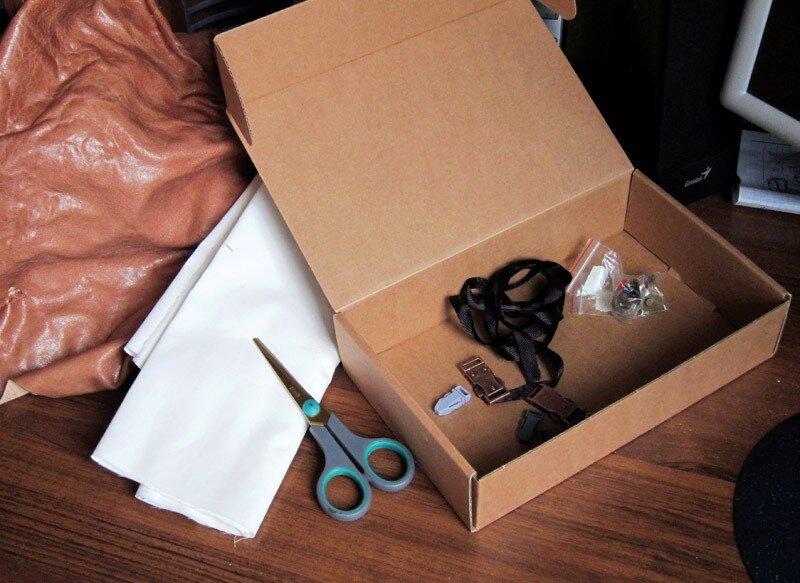 Как из коробки сделать чемодан