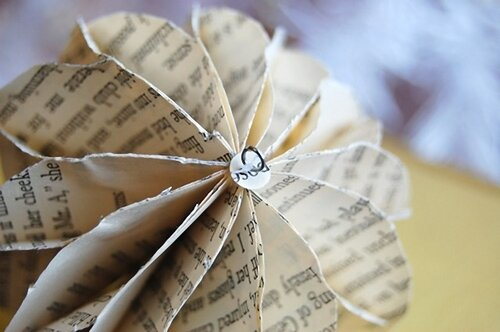 Елочный шар из бумаги ( газеты) 0_4f225_11d800d_L