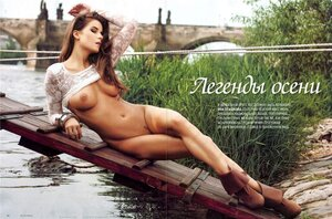 Яна Пташкова / Yana Ptashkova in Playboy october 2010