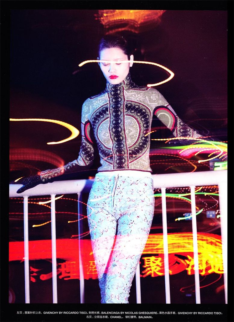 Минг Кси / Ming Xi by Sofia Sanchez and Mauro Mongiello in Numero China