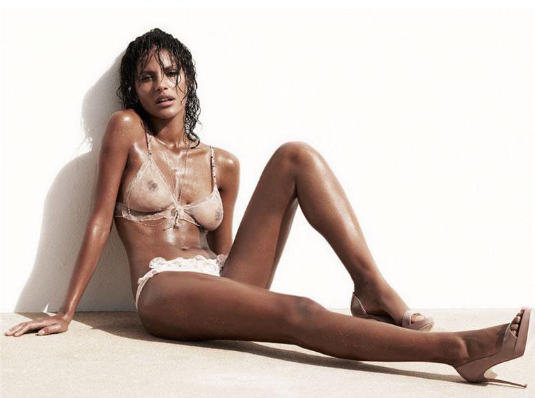 сексуальная девушка Emanuela de Paula, фотограф Gavin Bond