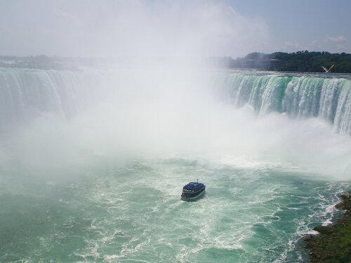 Экстрим на Ниагарском водопаде