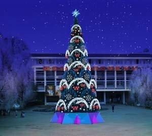Новогодние елки XX века