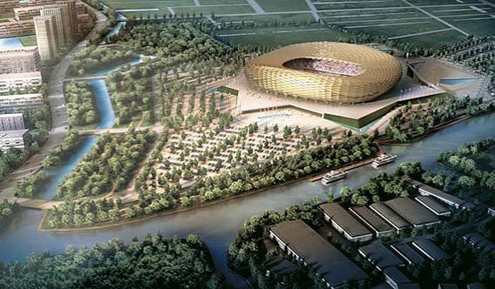 Стадион Чемпионата мира 2018 в Калининграде