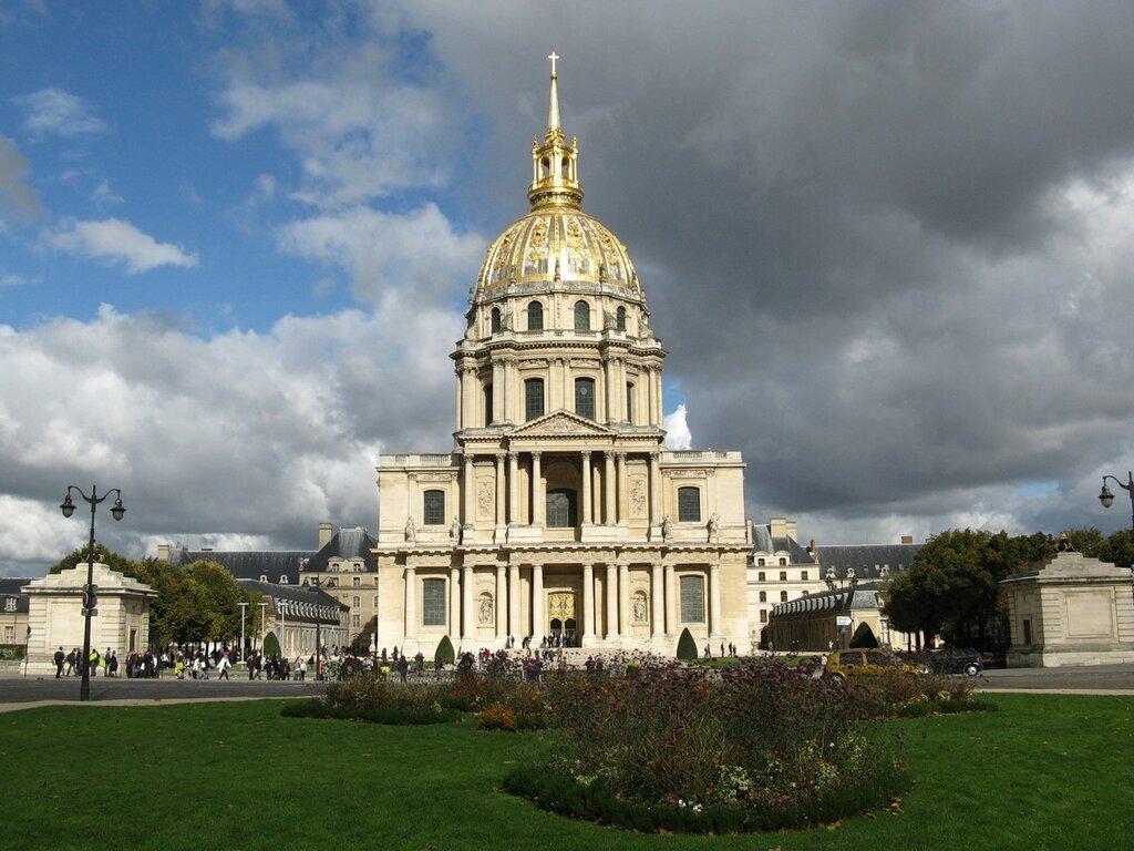 Собор Дома Инвалидов (Cathédrale Saint-Louis des Invalides)