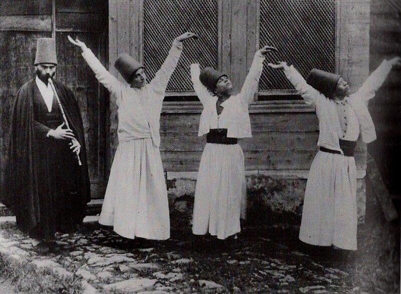 винтажные фото.Танцы дервишей