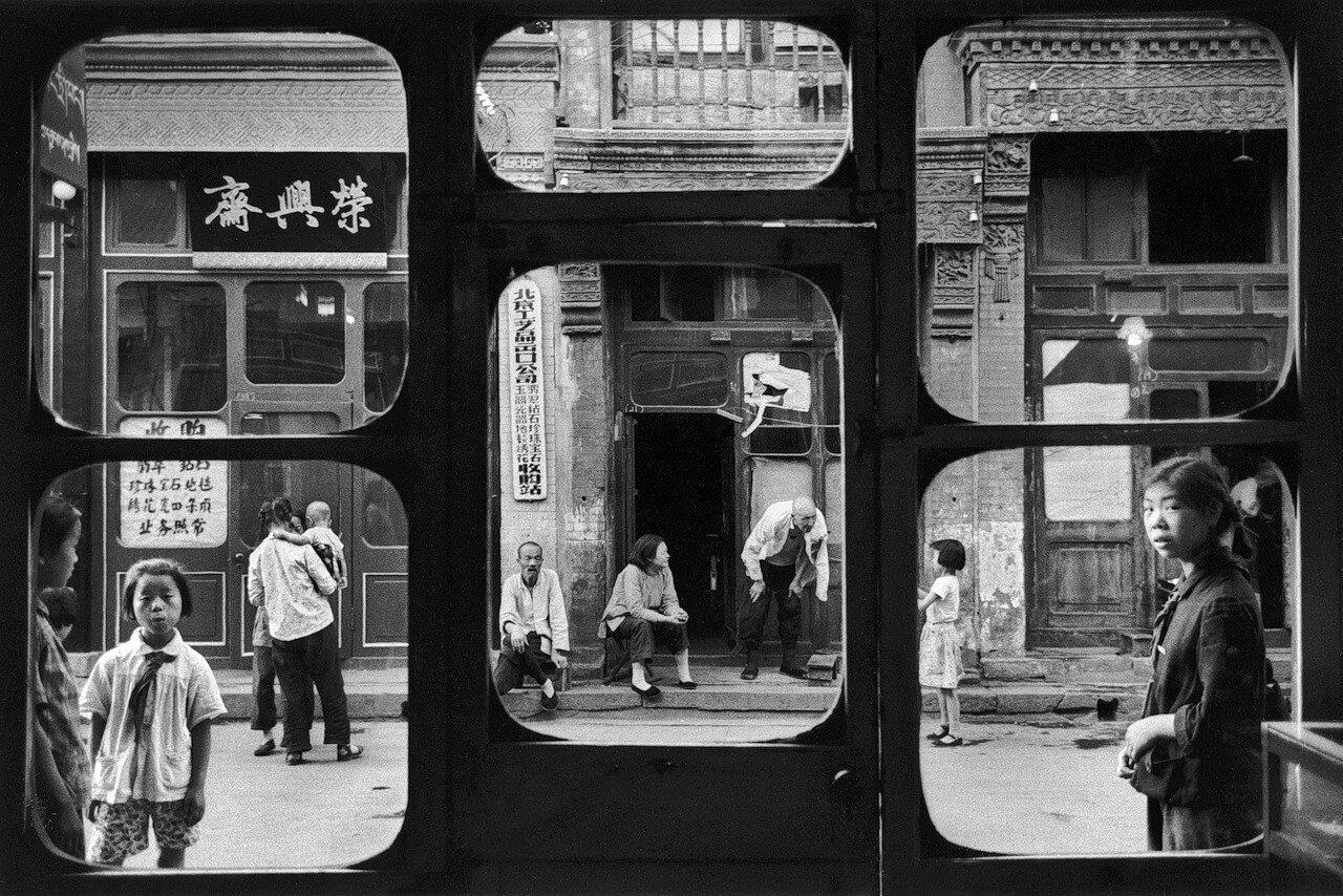 Marc Riboud, 'Antiquary Window', Beijing, 1965