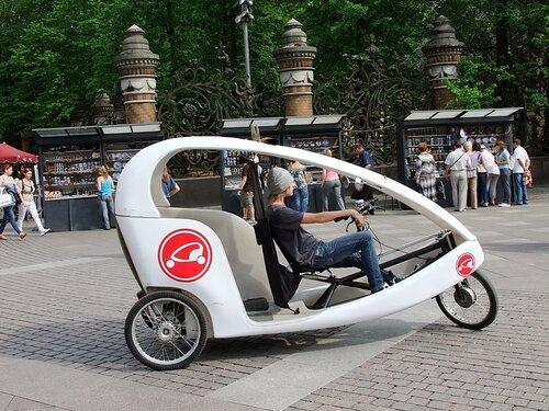 такси-велосипед