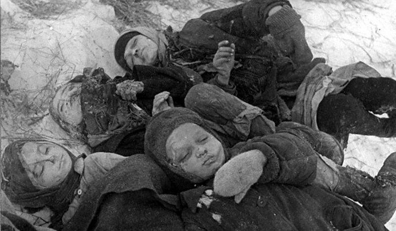 зверства фашистов, Сталинградская битва, сталинградская наука, битва за Сталинград
