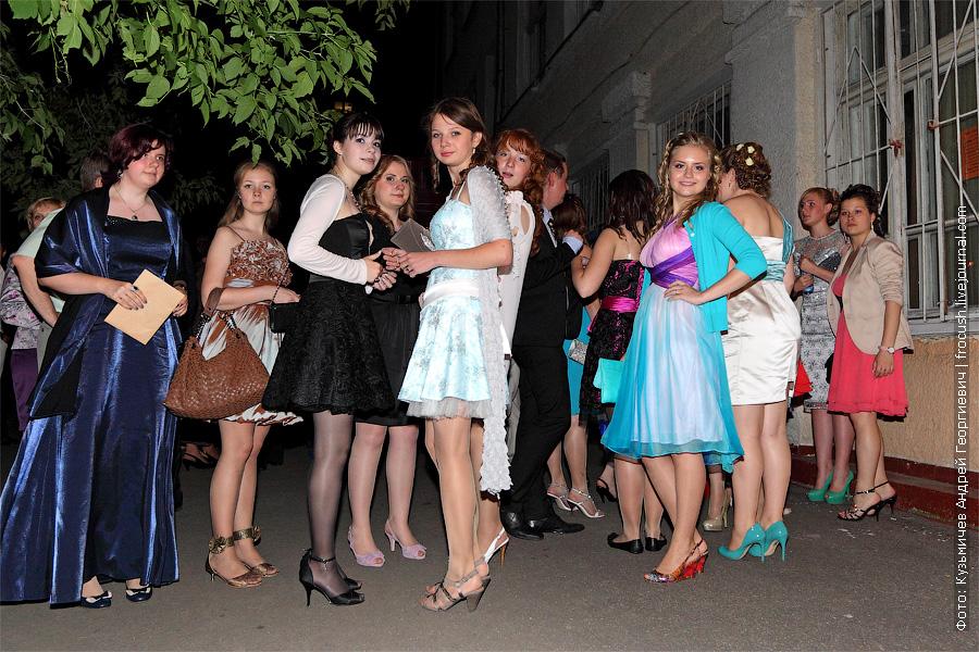 выпускной вечер в школе. 2012 год.