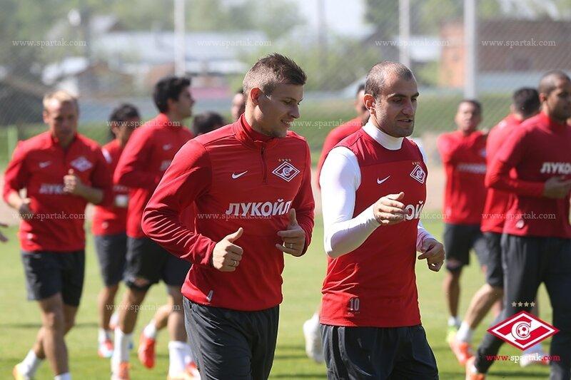 «Спартак» готовится к дерби с «Динамо»