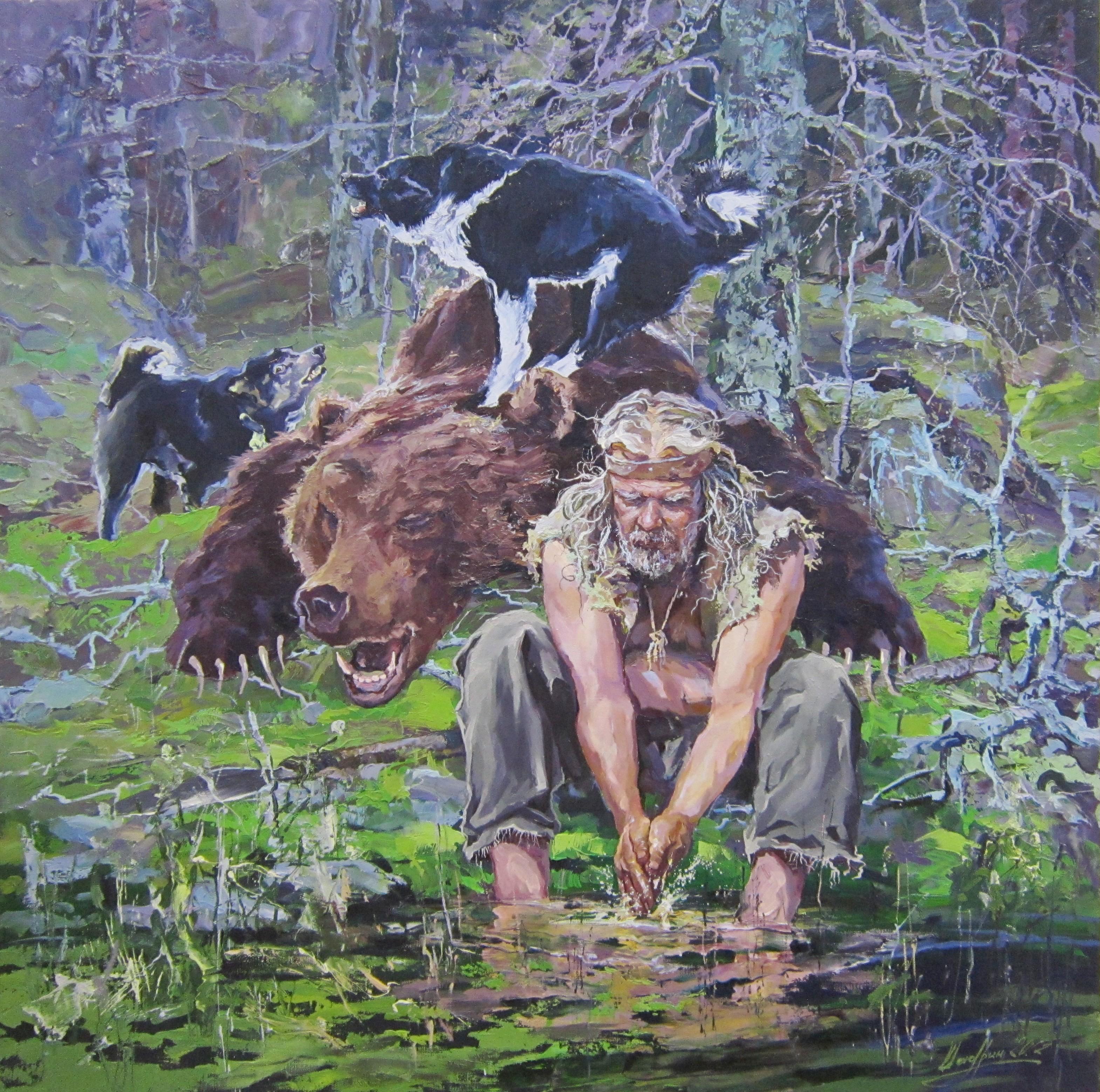 Александр Шадрин (род. в 1968 г.). Хозяин леса.