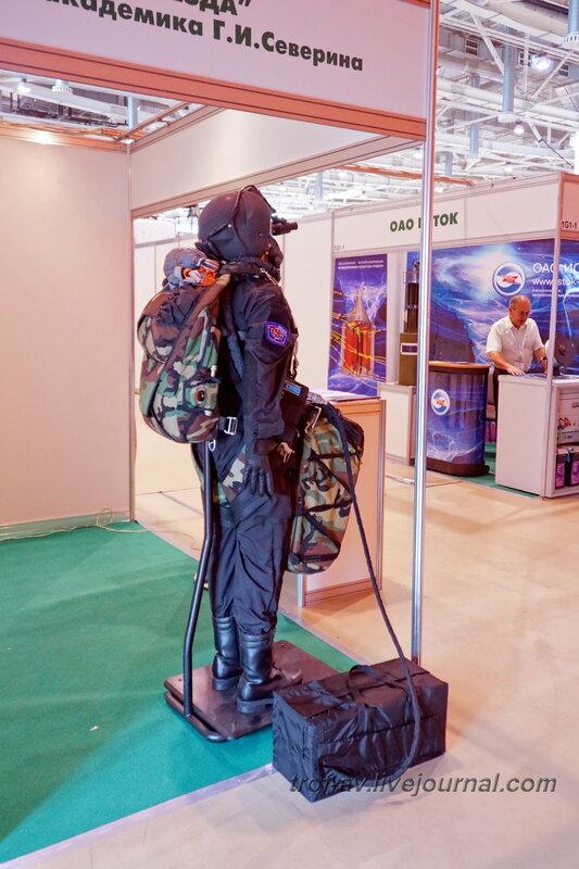 Комплект кислородного оборудования и снаряжения ККО-П. Выставка Комплексная безопасность 2014, Москва