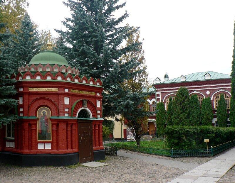 В Псково-Печорском монастыре