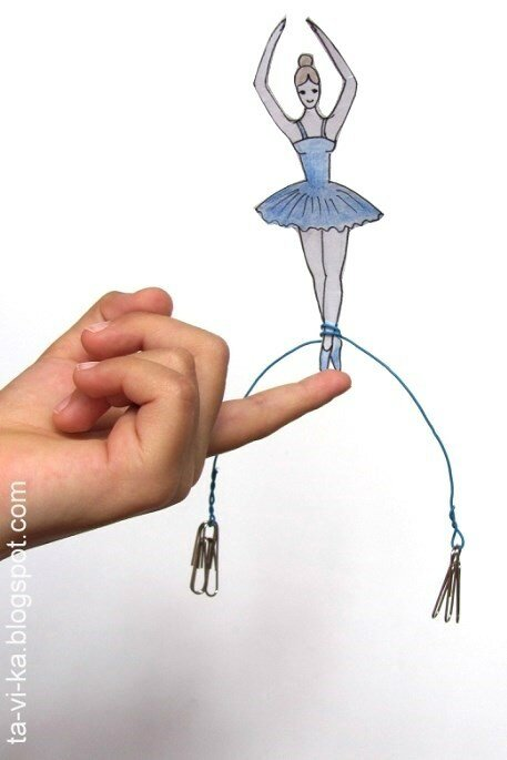 Научная поделка - физическая игрушка для детей