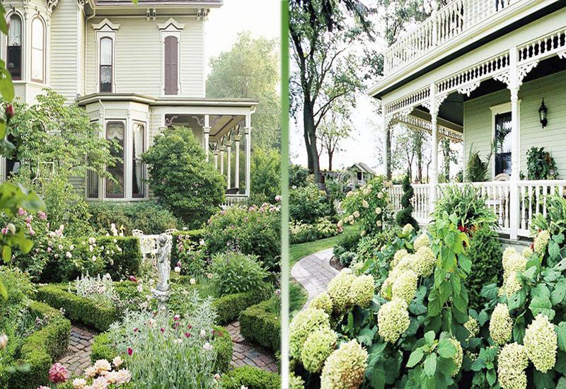 Ландшафт - Идеи оформления переднего дворика дома-Викторианский стиль