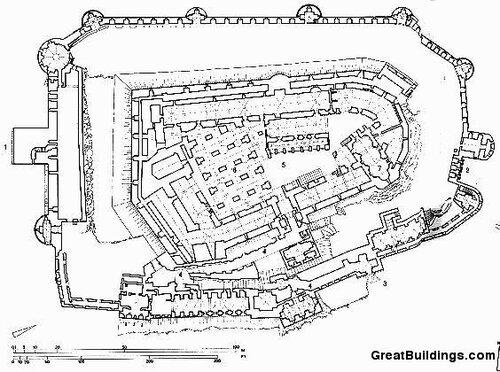 Замок Крак-де-Шевалье