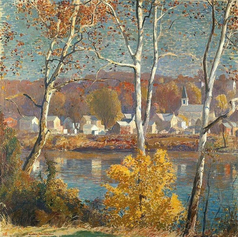 Незаметно подкралась осень, отшумели деревья листвой. Daniel Garber