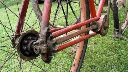 цепь на велосипеде