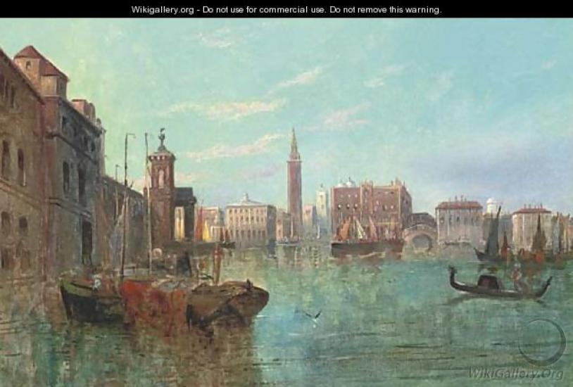 Venice towards Piazza San Marco, a capriccio