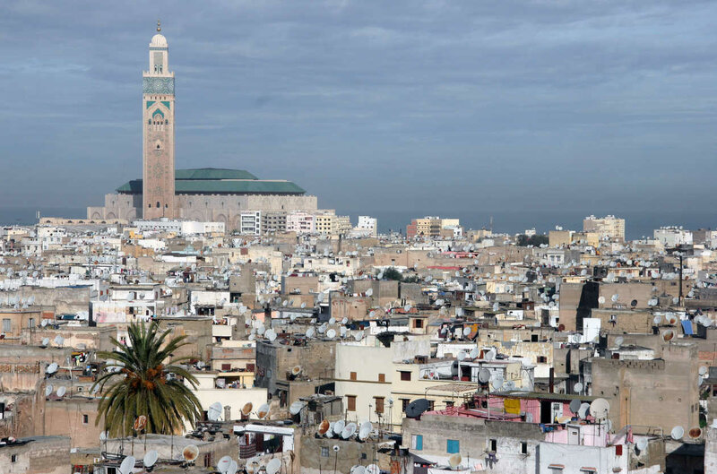 Мечеть Хассана И Hassan II Mosque