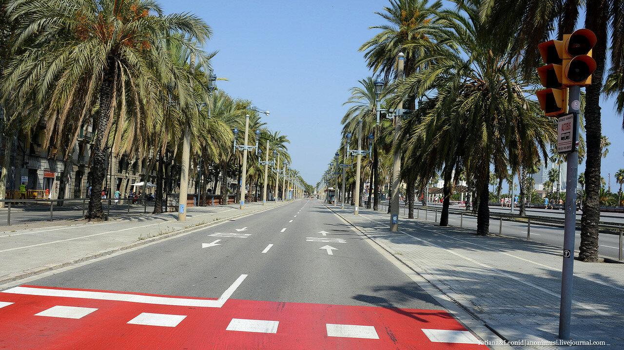 Барселона в сентябре.