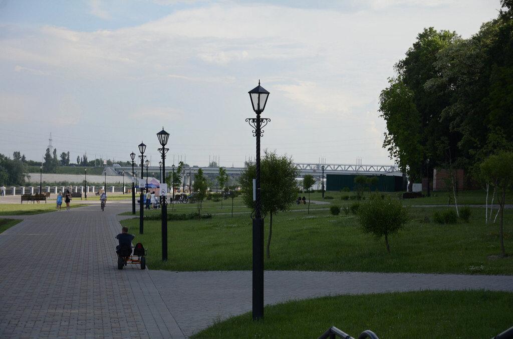 Летняя прохлада в парке Румянцевых и Паскевичей