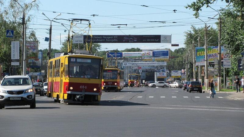 В этом году в Курске отремонтируют восемь трамвайных переездов