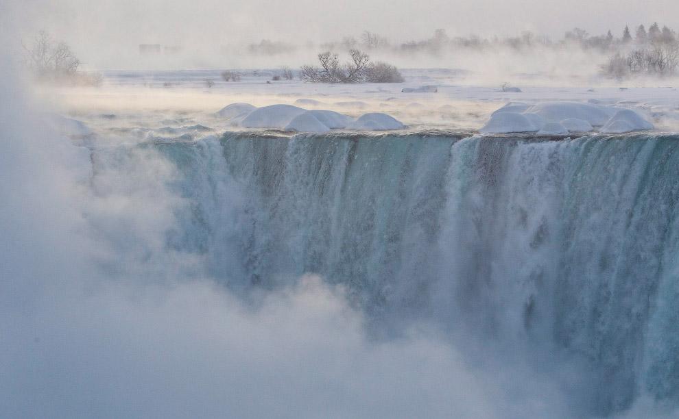 4. Североамериканские Великие озёра и река Ниагара — это результат активности последнего ледник