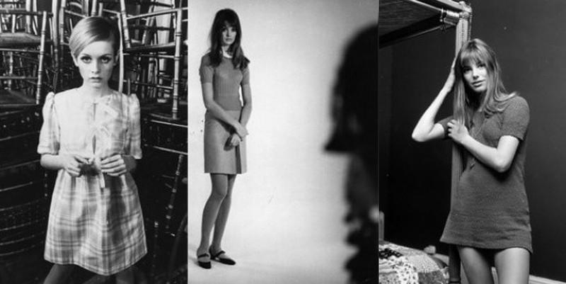 12. Свингующие 60-е качнули маятник моды обратно. Худые снова в тренде. Модельный мир перевернула Тв