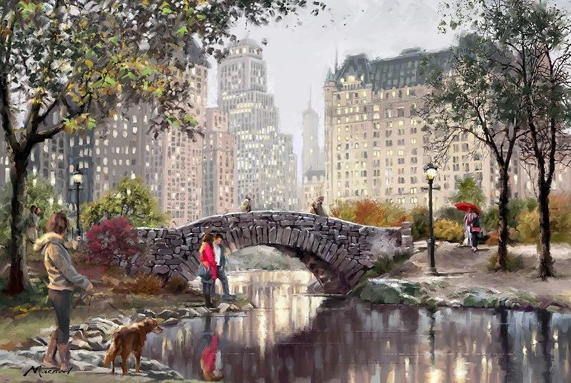 Уединение Томаса Кинкейда Томас Кинкейд является самым коллекционируемым художником мира. Его ра