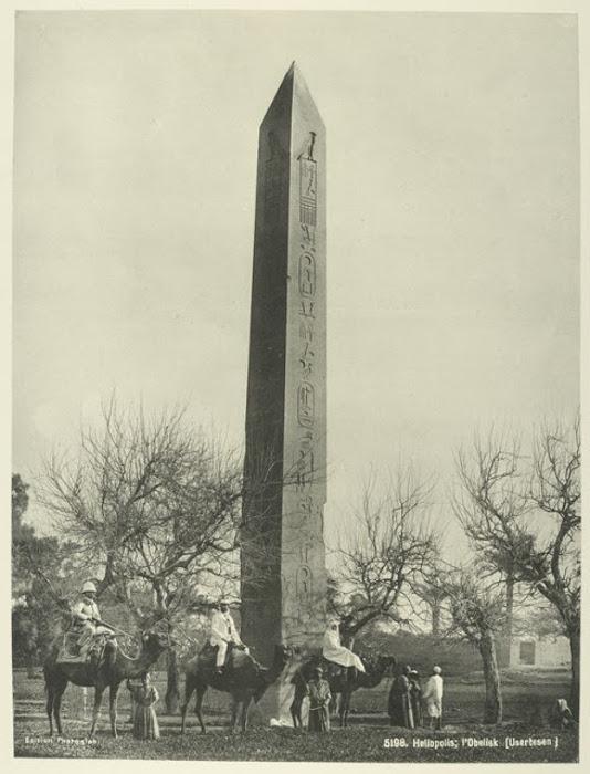 Обелиск в Гелиополосе, Каир.