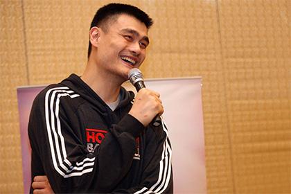 Бывшая звезда НБА ЯоМин стал послом Китая наМарсе