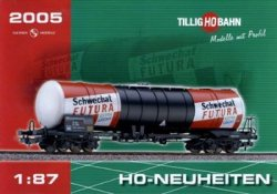 Журнал Tillig Bahn. 2005 H0-Neuheiten