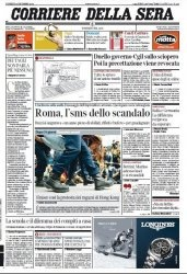 Журнал Il Corriere della Sera  (12 dicembre 2014)