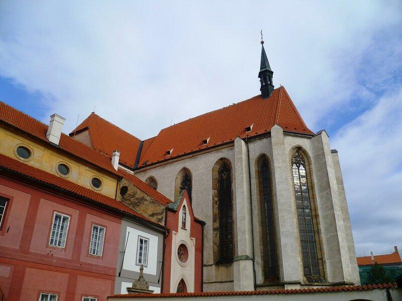 Ческе-Будеёвице, костел Жертвенной Девы Марии (Ceske Budejovice, Sacrificial Church of the Virgin Mary)