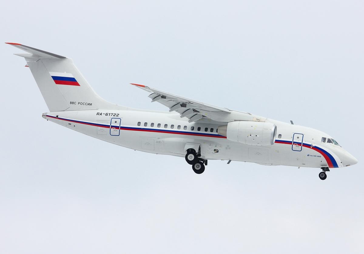 Министерство обороны России получит в 2016 году пять самолетов Ан-148