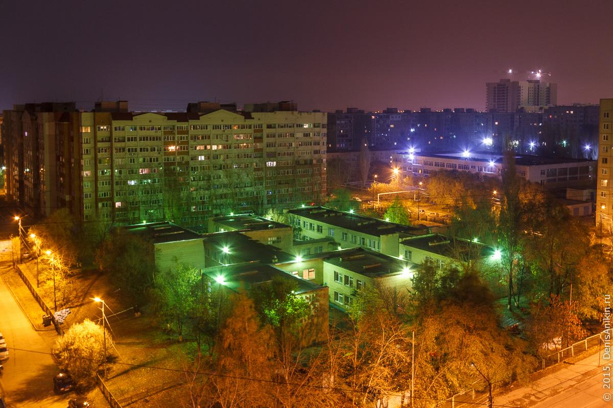 Солнечный ночью. Саратов 15