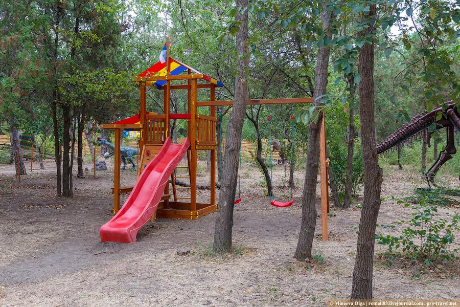 Парк Рекс в Анапе