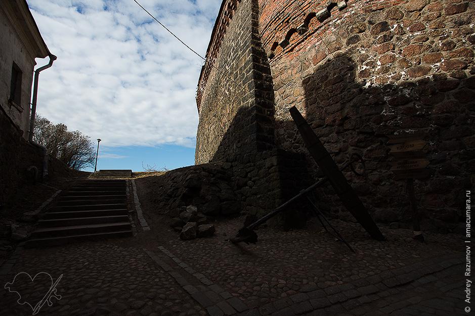 Выборг замок остров вокзал залив