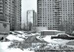 Солнцево, Авиаторов 12, двор, март 2006