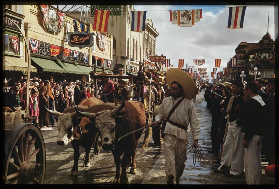 Американская история 1938 – 1949гг. в фотографиях Charles W. Cushman