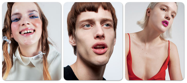 Портреты фотографа Nicolas Coulomb для журнала Novembre Magazine