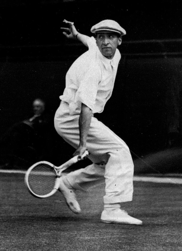 French tennis player Rene Lacoste,1925