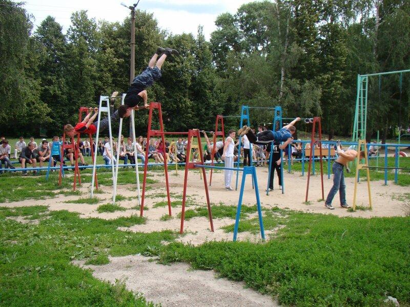 Соревнования по воркауту в Йошкар-Оле