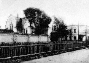 Челябинск. Клуб строителей в здании бывшей Покровской (перцевской) церкви