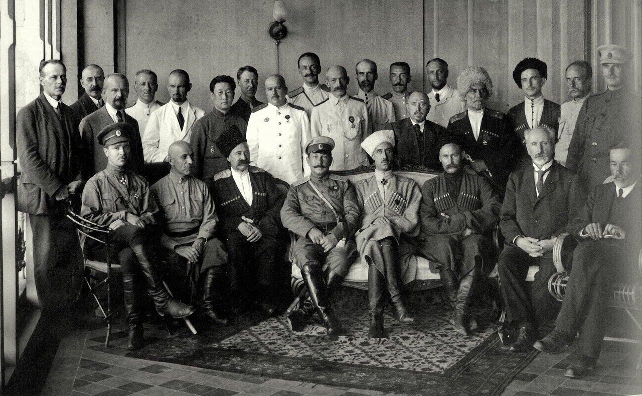 Правительство Юга России. Севастополь, 1920 год